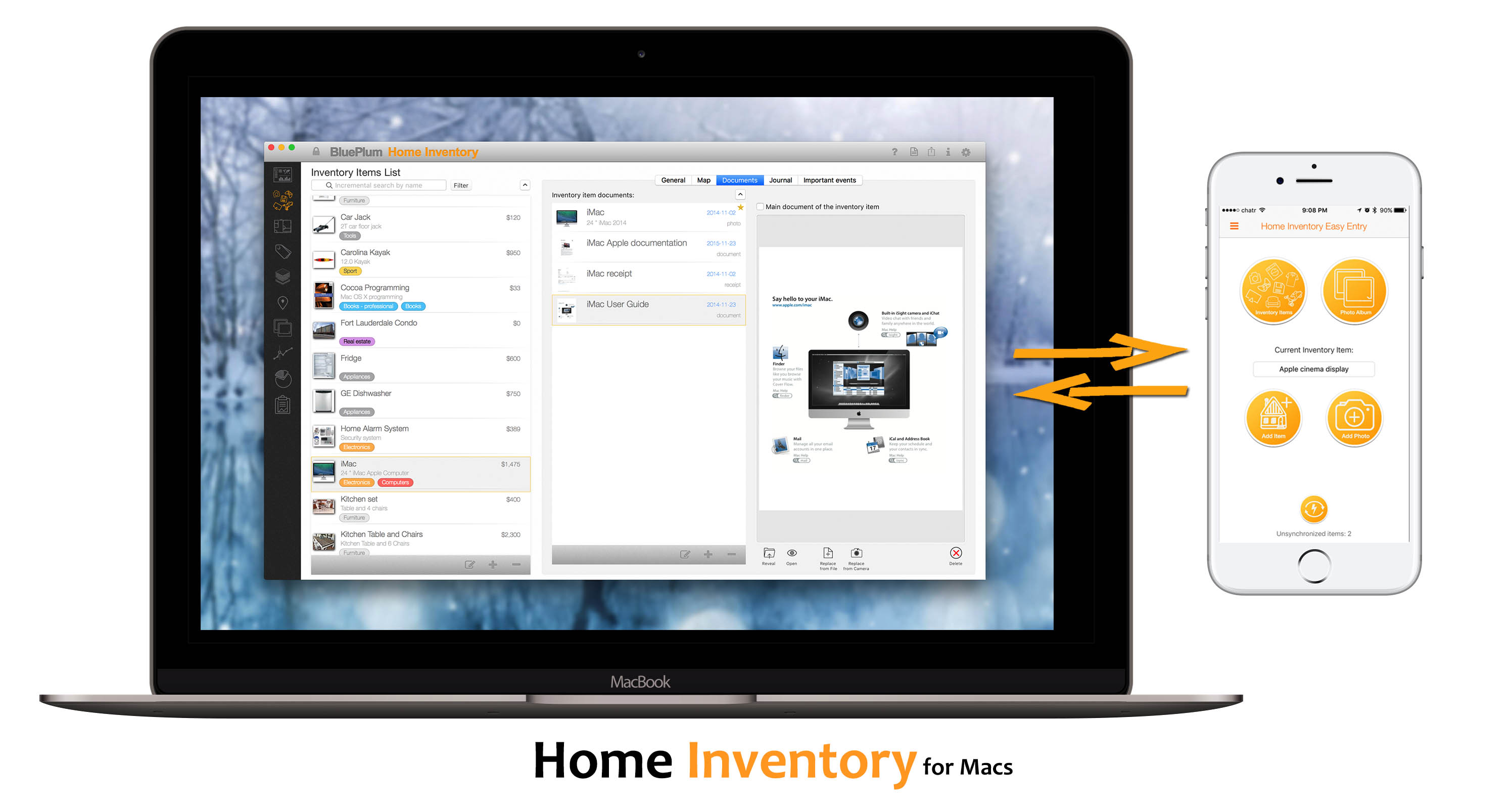 Home Inventory for Mac