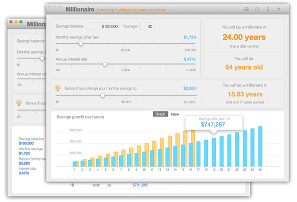 nifty millionaire for Mac OSX