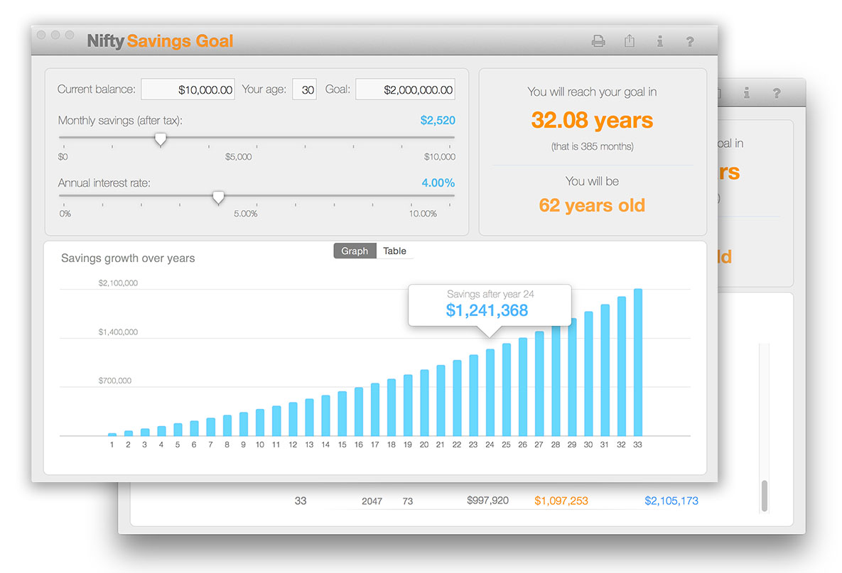 net worth tracking for Mac OSX